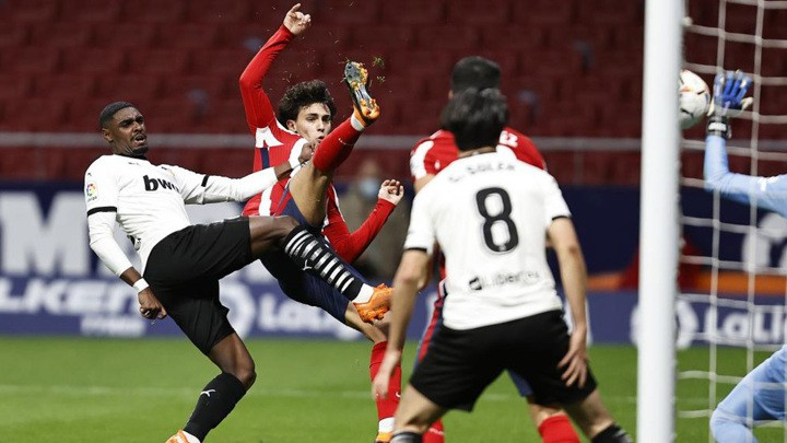 Joao Felix scores his first goal in almost two months