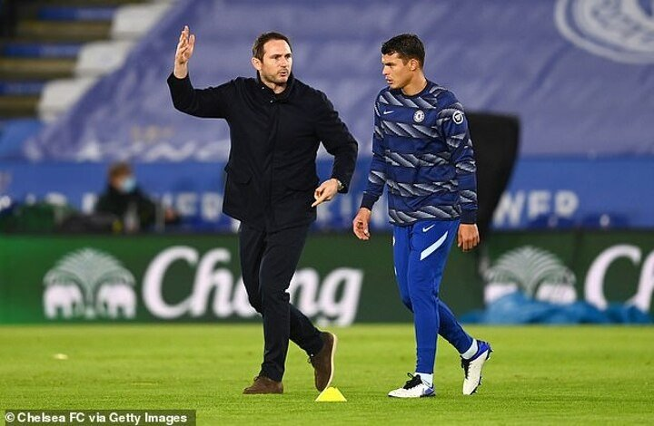 Thiago Silva thanks Frank Lampard after his sacking but now faces awkward reunion with Thomas Tuchel
