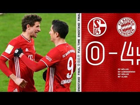 3 Kimmich Assists for Müller & Lewandowski | Highlights Schalke 04 vs. FC Bayern 0-4