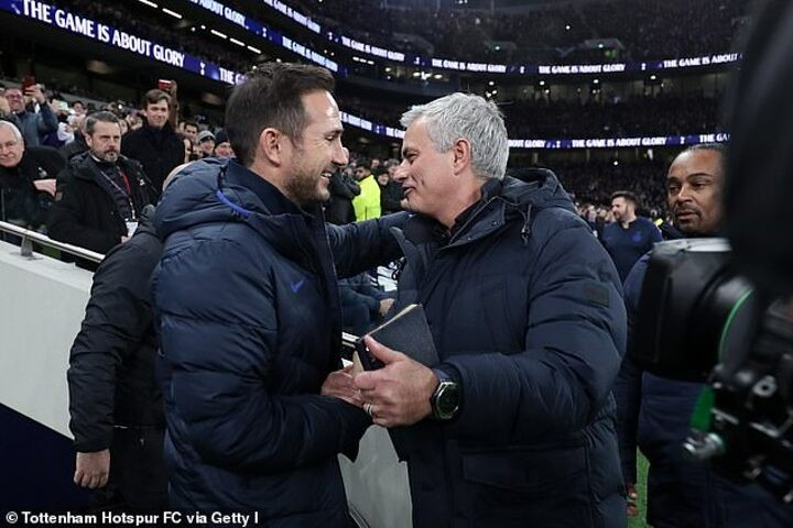 Mourinho admits he's 'sad' that Lampard has been sacked after just 18 months