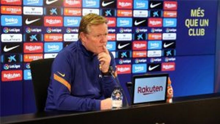 Koeman: Messi is fresh and hungry, we need him for his effectiveness