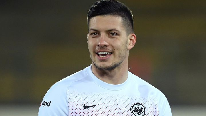 Jovic not thinking about Real Madrid return after flying Frankfurt comeback
