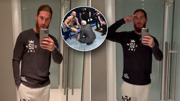Ramos sends message of support to Conor McGregor: Always supporting you!