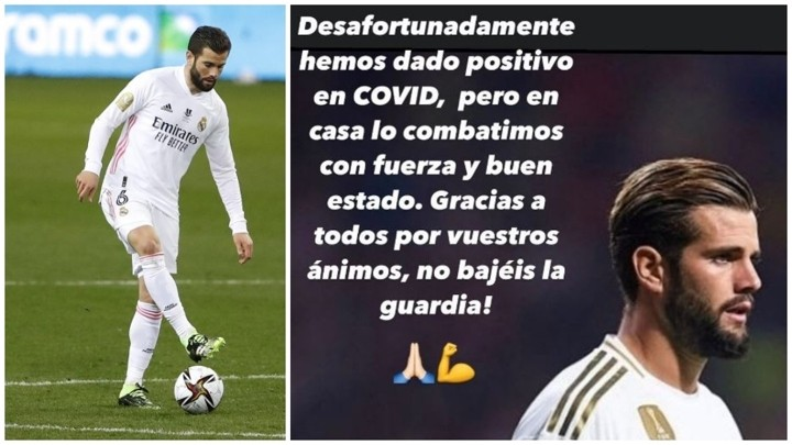 Nacho: At home we fight the virus forcefully