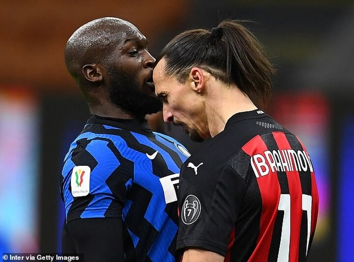 A fight to be crowned King of Milan drove Lukaku and Ibrahimovic to blows