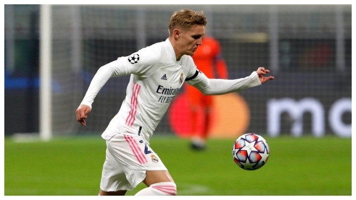 Odegaard, a scared player with the shirt that not everyone can handle