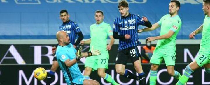 Coppa Italia: 10-man Atalanta eliminate Lazio