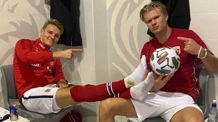 Haaland: What Odegaard needs is to start playing