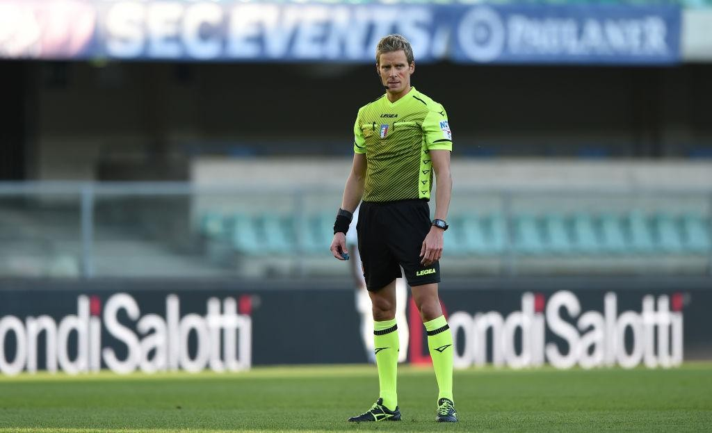 SERIE A TIM, THE REFEREES FOR THE 20TH ROUND