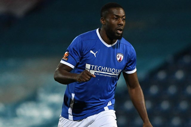 Chesterfield striker Akwasi Asante on admiring Arsenal and Manchester United as a kid