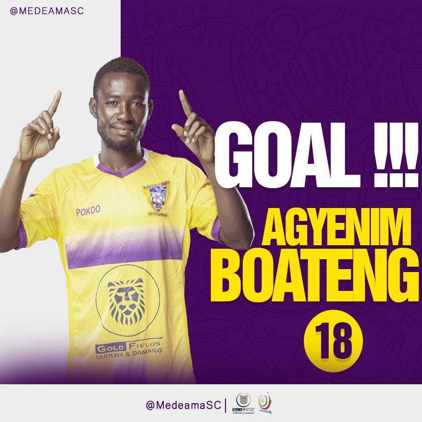 2020/21 Ghana Premier League: Week 8 Match Report - Medeama 2-1 Aduana Stars