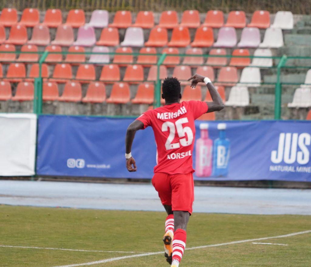 Alfred Mensah nets fifth league goal to help Skenderbeu draw in Albania