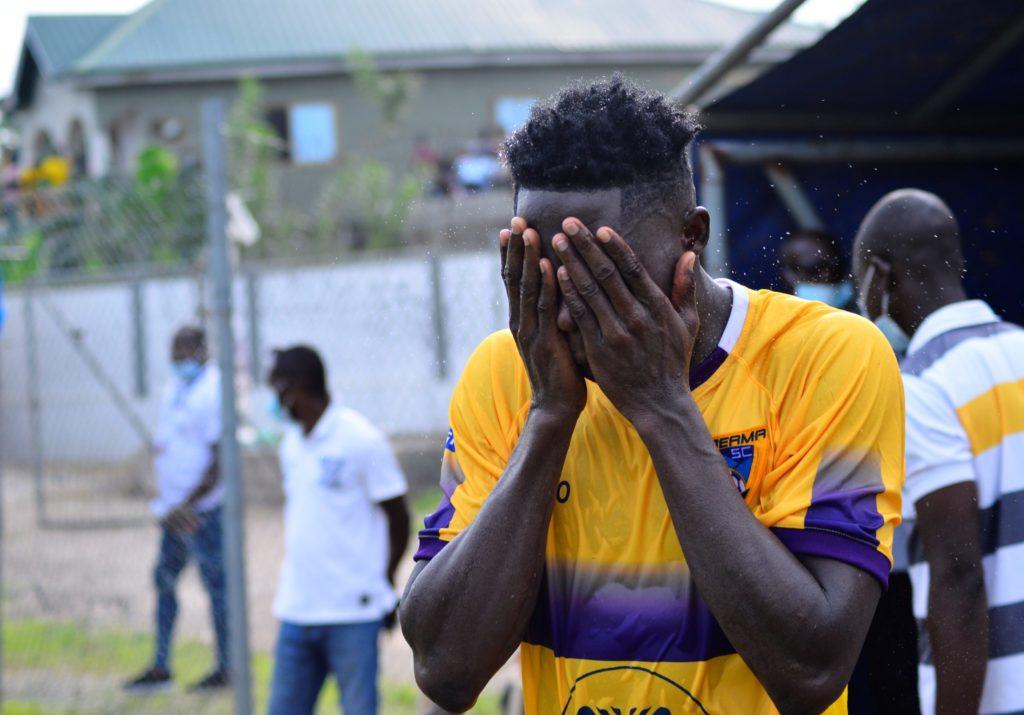 Midfield maestro Justice Blay bags MOTM against Aduana Stars