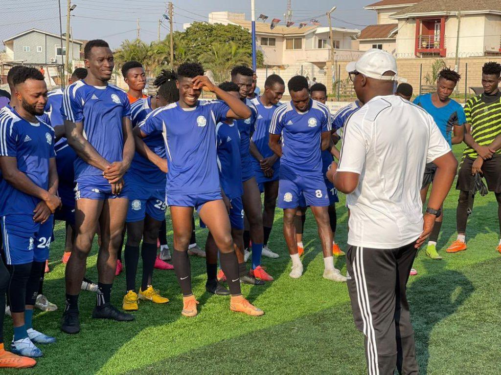 PHOTOS: Ex-Ghana star Yaw Preko begins Great Olympics coaching tenure