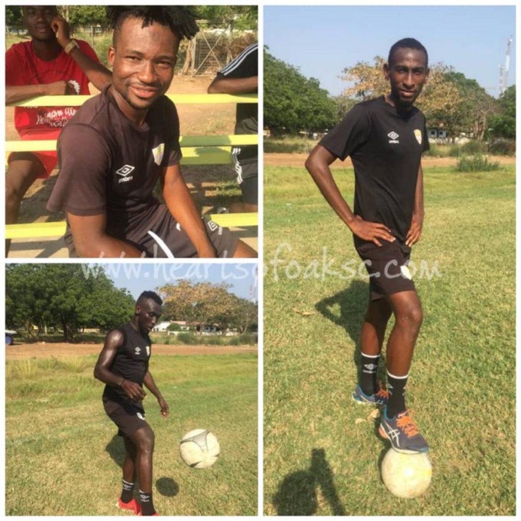 Hearts of Oak handed ANOTHER huge boost as Nettey, Lawali & Nurudeen return to training
