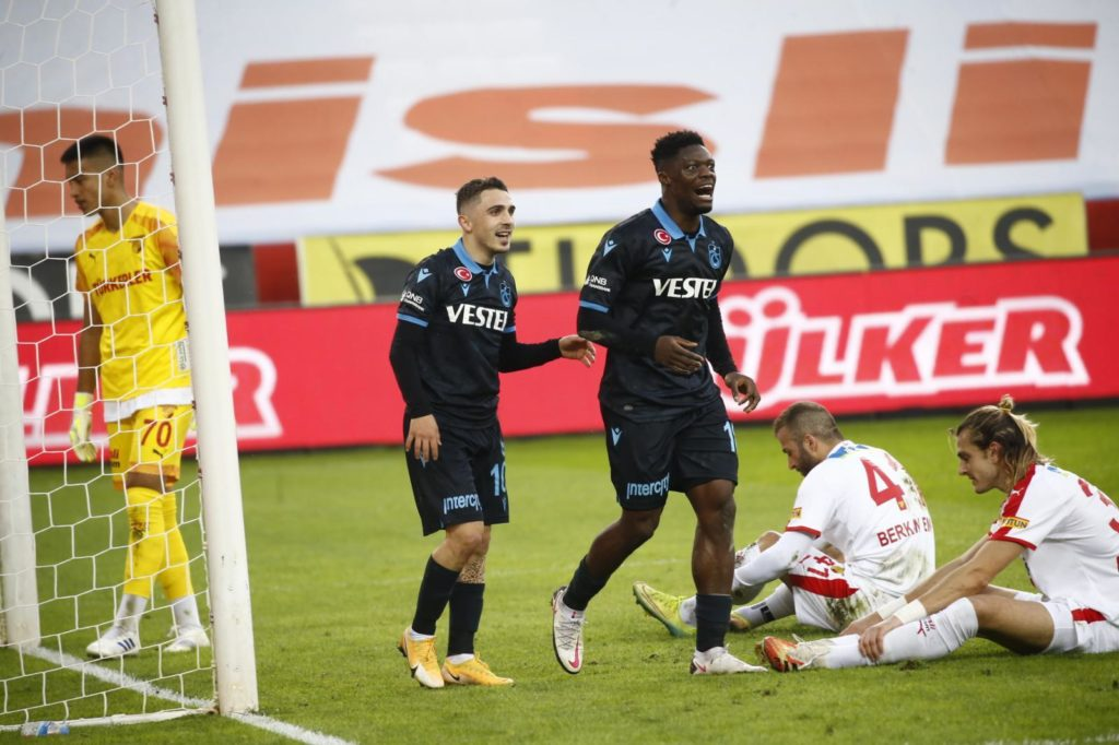 VIDEO: Caleb Ekuban's lone goal gives victory to Trabzonspor in Turkish Super Lig