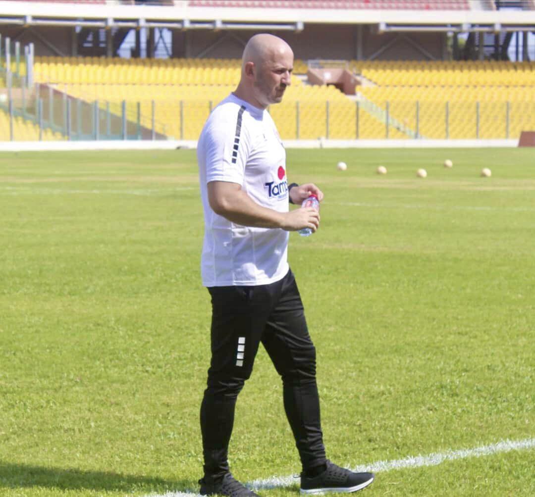 Inter Allies new coach Danijel Mujkanovic upbeat about survival after winning debut