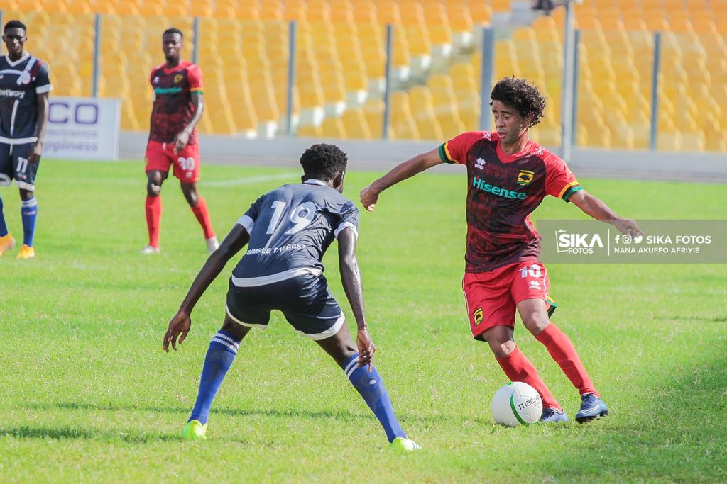 I am used to Ghana weather – Kotoko's Brazilian midfielder Fabio Gama