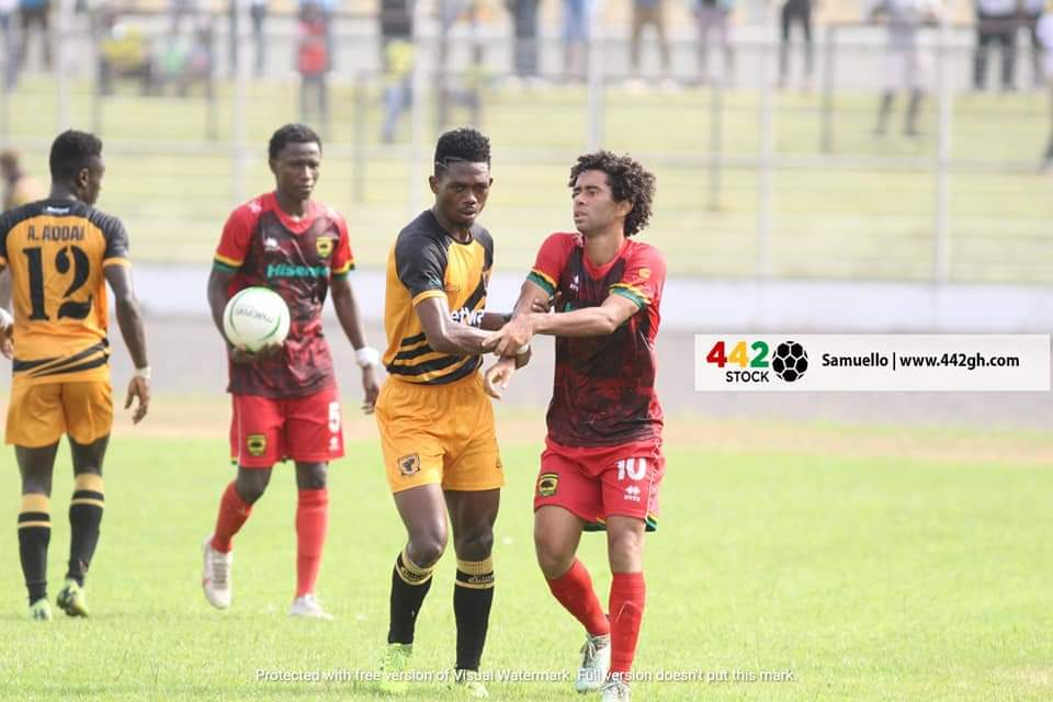 2020/21 Ghana Premier League: Highlights- AshantGold SC 0-0 Asante Kotoko