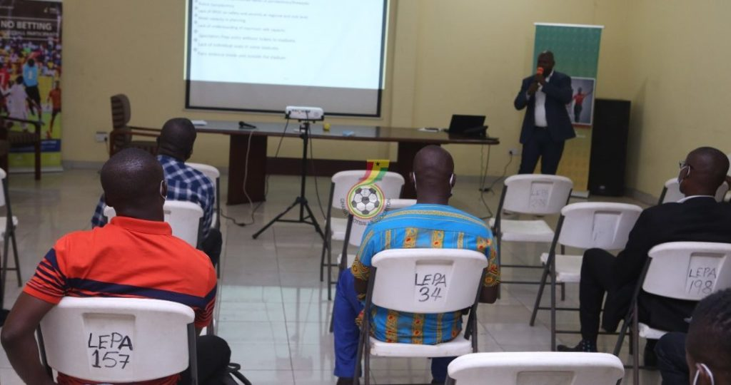 GFA to meet Clubs Safety and Security Officers over enhancing COVID-19 protocols