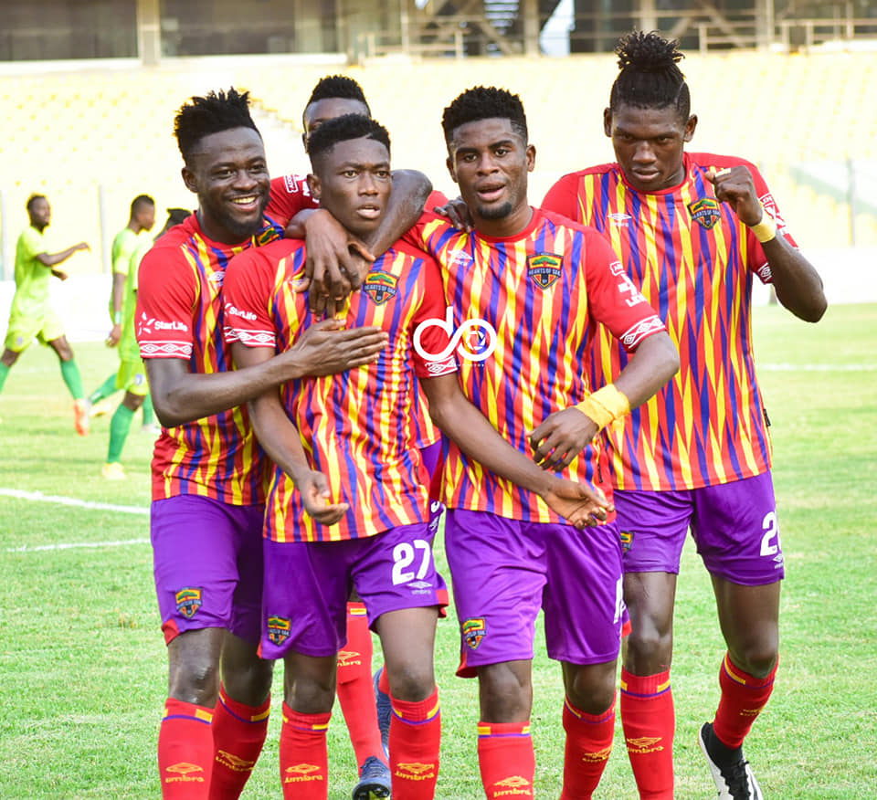 VIDEO: Watch highlights of Hearts of Oak's impressive 6-1 victory over Bechem United