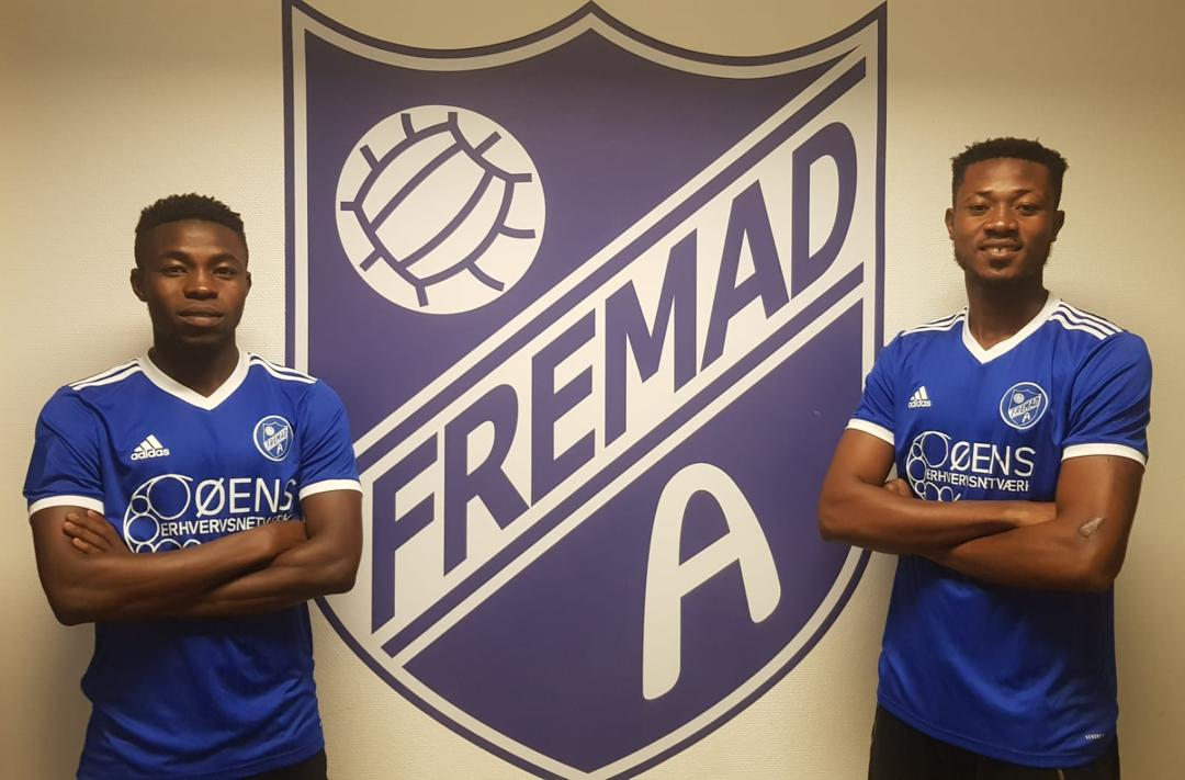 Cheetah FC duo Ebenezer Adade and Francis Agoanyah join Fremad Amager in Denmark