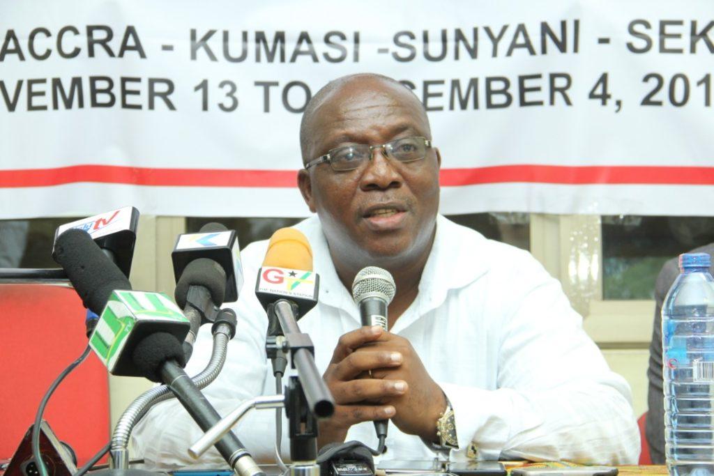 GHALCA Elections: Incumbent Kudjoe Fianoo reveals ground-breaking policy document