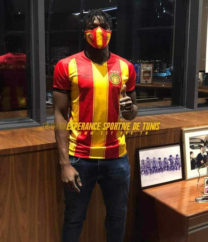 OFFICIAL! Tunisian giants Espérance de Tunis announce signing of Ghanaian striker Abdul Basit Khalid