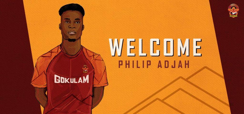 Ghanaian forward Philip Adjah Tetteh joins Gokulam Kerala in India