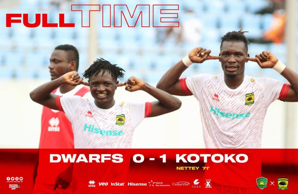 2020/21 Ghana Premier League: Highlights- Ebusua Dwarfs 0-1 Asante Kotoko