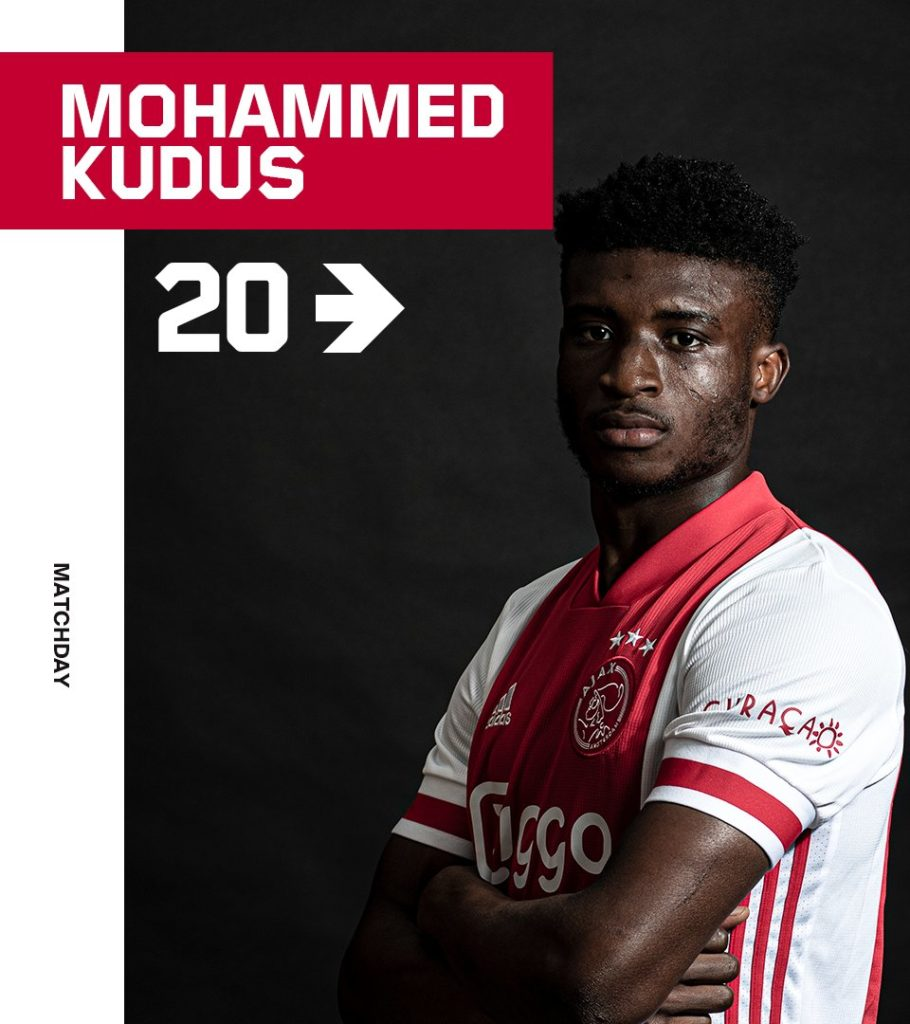 Ajax star Mohammed Kudus makes return to action after three-month injury layoff