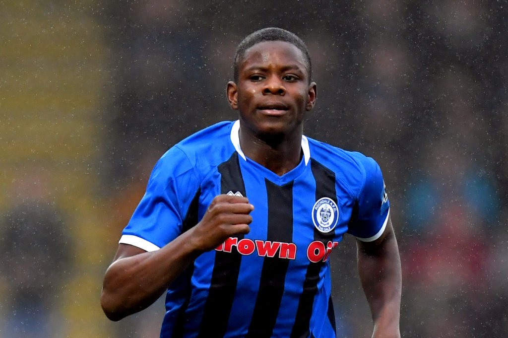 Ghanaian teenager Kwadwo Baah scores twice in Rochdale 8-goal thrilling draw at Charlton Athletic