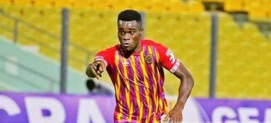 Fit-again Hearts of Oak striker Kwadjo Obeng Jnr. resumes training ahead Eleven Wonders showdown