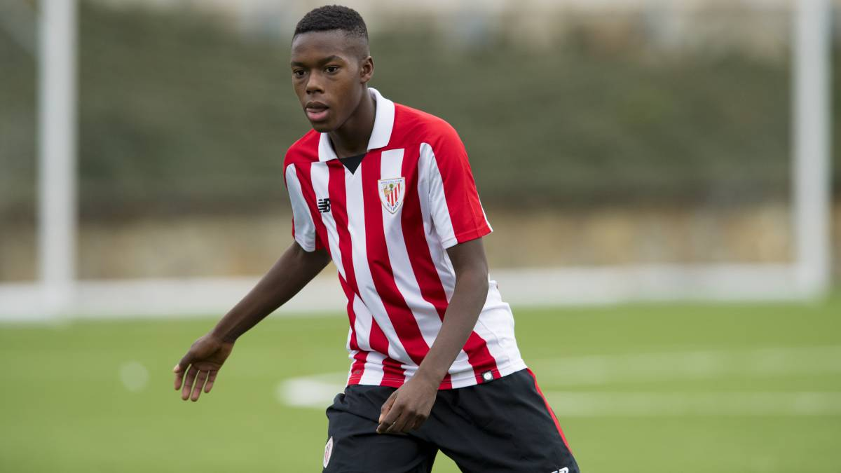 Inaki Williams youngster brother Nico scores for Athletico Bilbao in win over Barakaldo