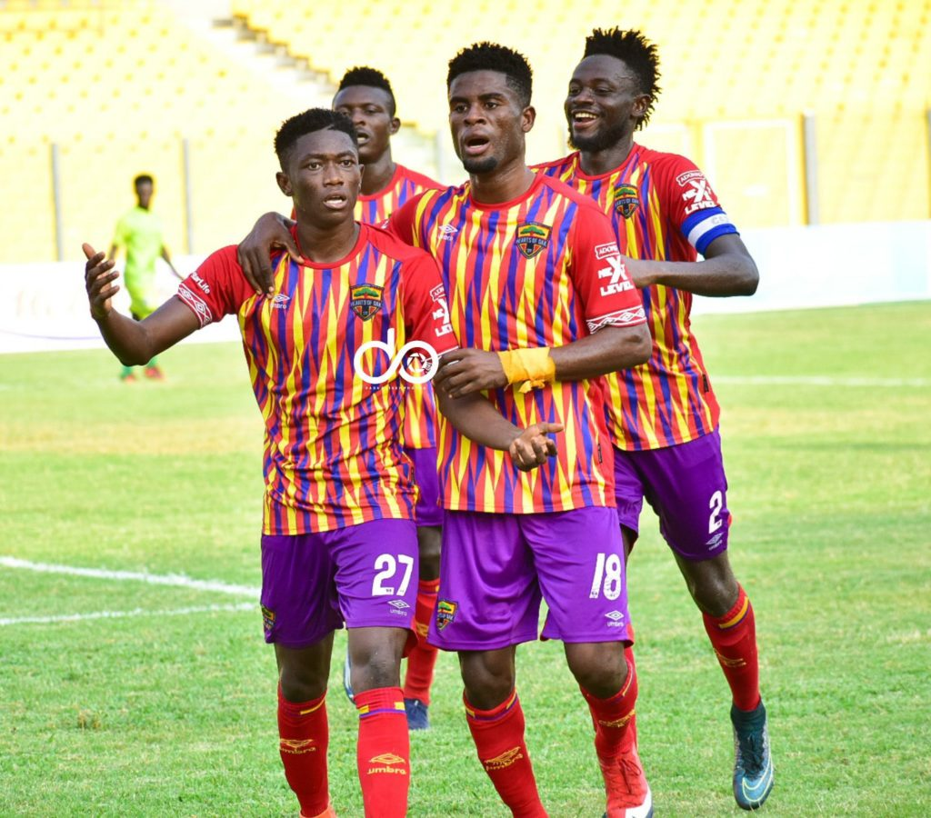 Hearts star Manaf Umar happy with 'important' victory over Bechem United
