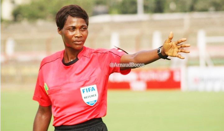 Ghana to protest dodgy Togolese referee at WAFU, wants her CAF deselection