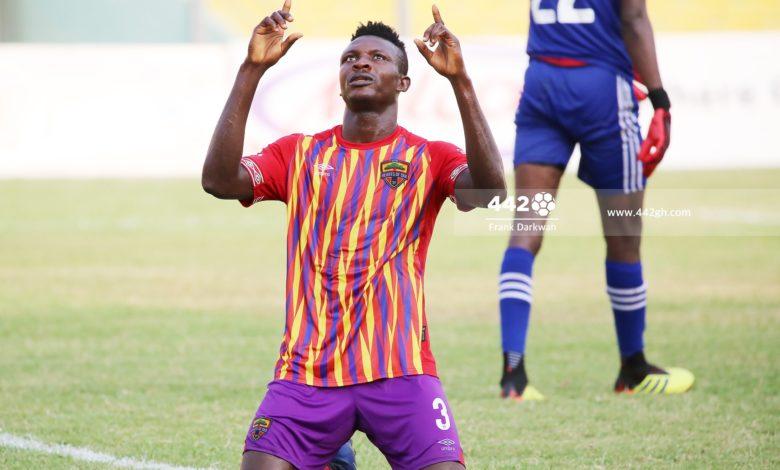 Hearts of Oak striker Victor Aidoo eyes more goals in Ghana Premier League