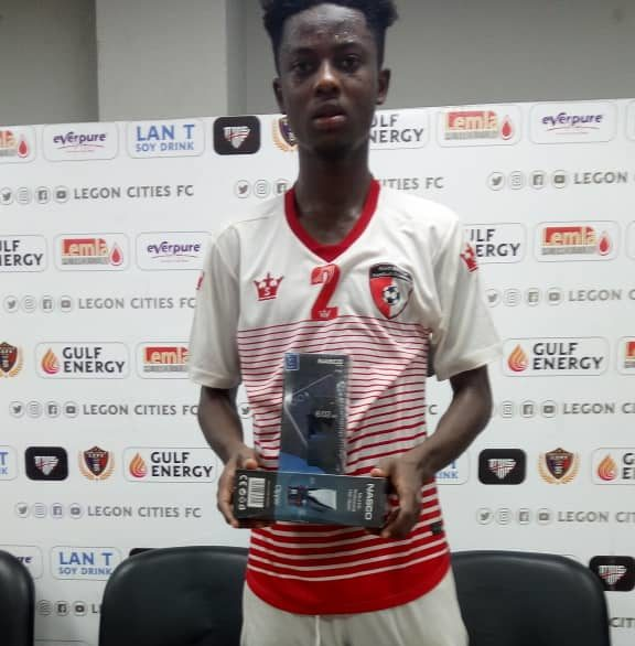 2020/21 Ghana Premier League: Mohammed Karim wins MOTM in WAFA's defeat to Legon Cities