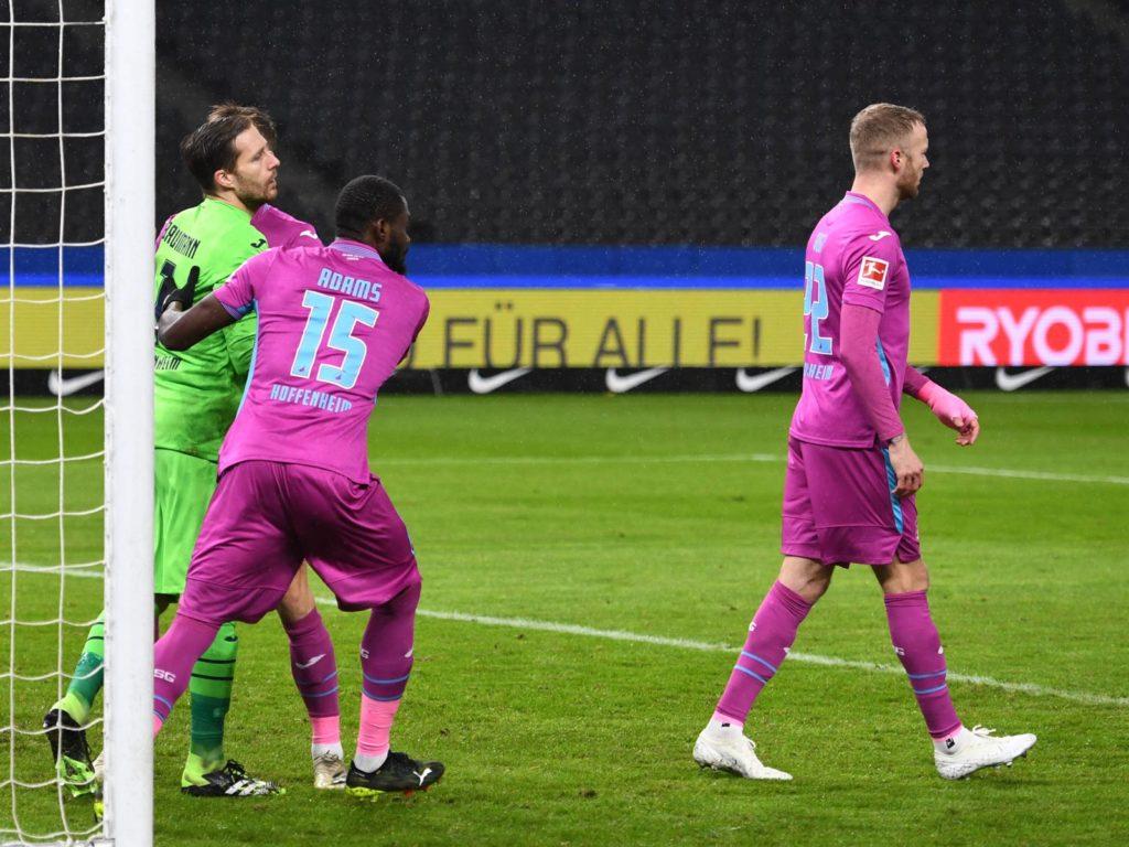 Ghana defender Kassim Adams plays full throttle as Hoffenheim beat Hertha Berlin