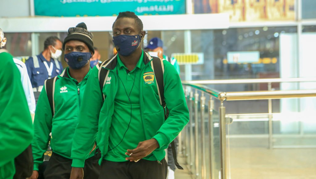 CAF Champions League: Asante Kotoko arrive in Sudan ahead of Al Hilal game on Wednesday