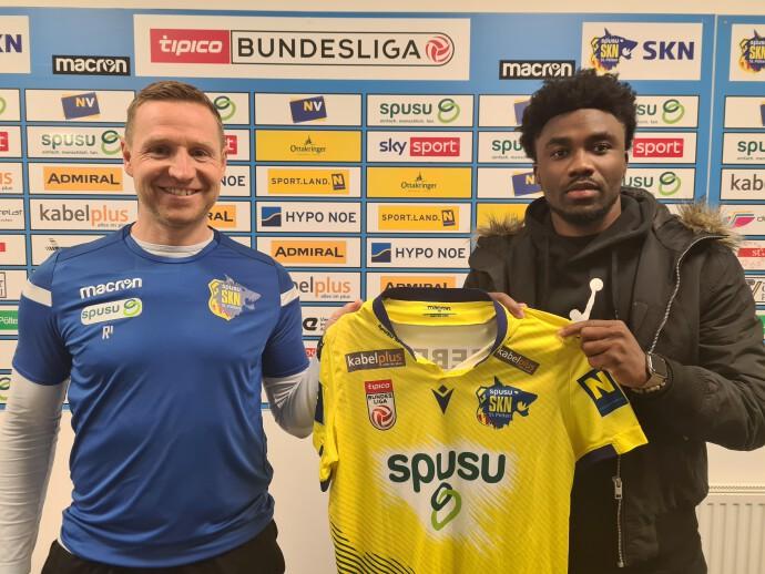 St. Polten sports director Georg Zellhofer elated with Samuel Tetteh signing