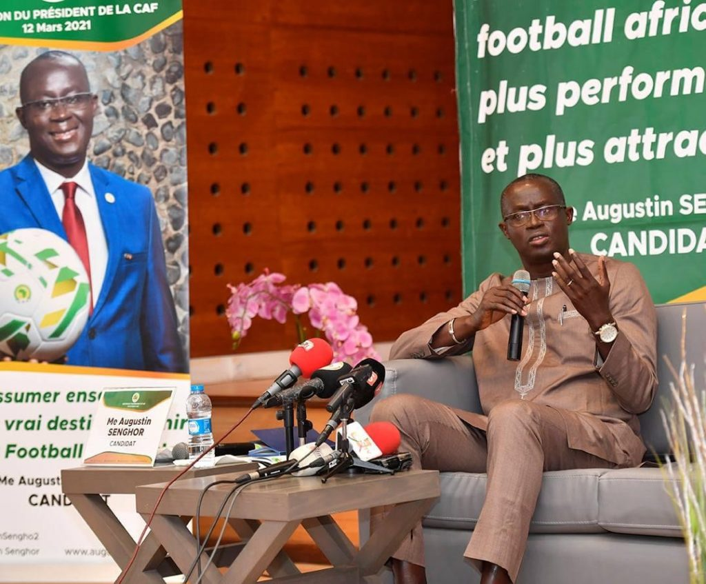 Senegal FA chief Augustin Senghor reveals why he is favourite for CAF Presidential election