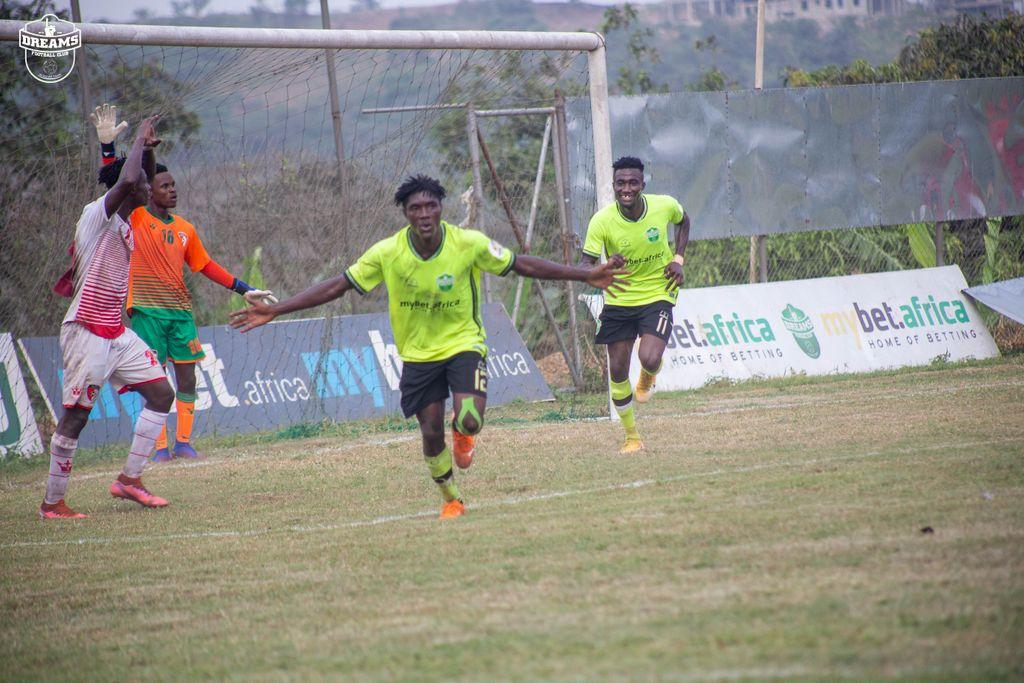 2020/21 Ghana Premier League: Week 12 Match Report- Dreams FC 3-0 WAFA