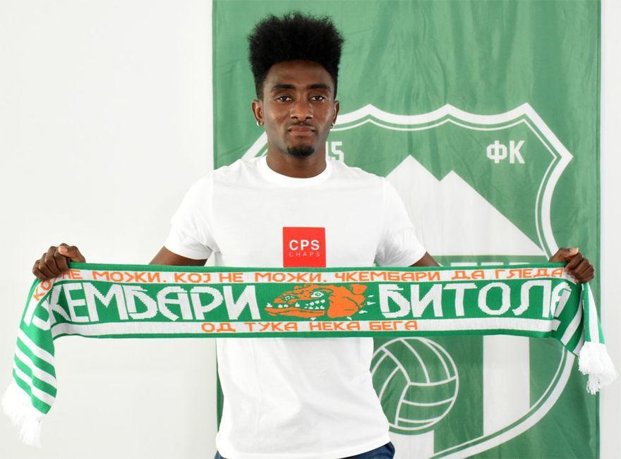 Ex-Amidaus Prof star Prince Amponsah finalizes FK Pelister switch
