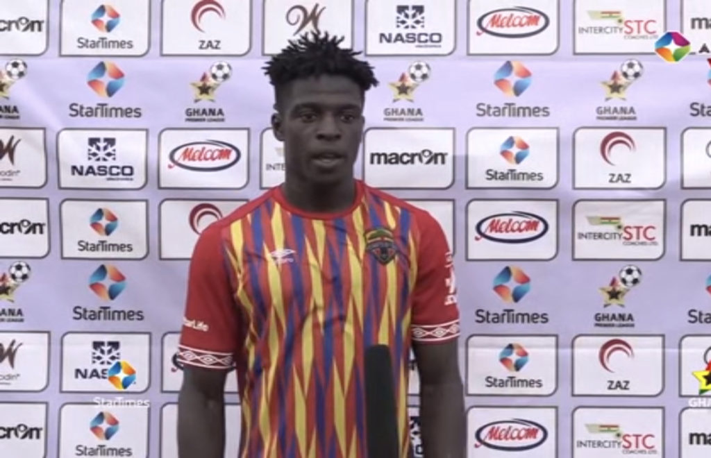 2020/21 Ghana Premier League: Super-sub Isaac Mensah wins MoTM in Hearts of Oak's victory over Liberty