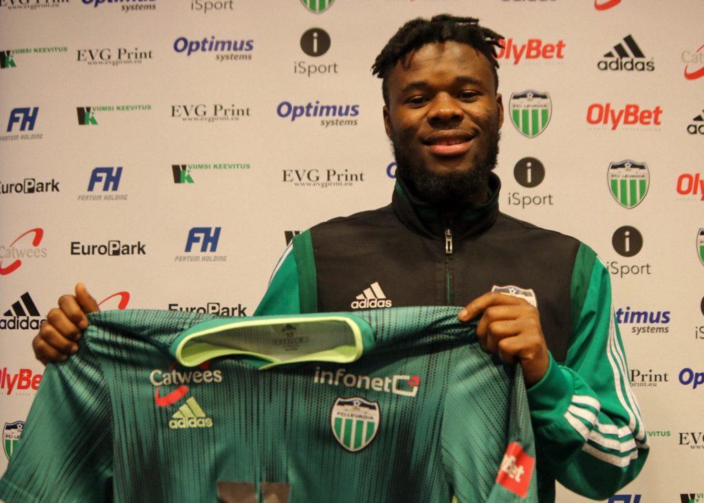 Ghanaian youngster Ernest Agyiri seals move to Estonian club Levadia Tallinn