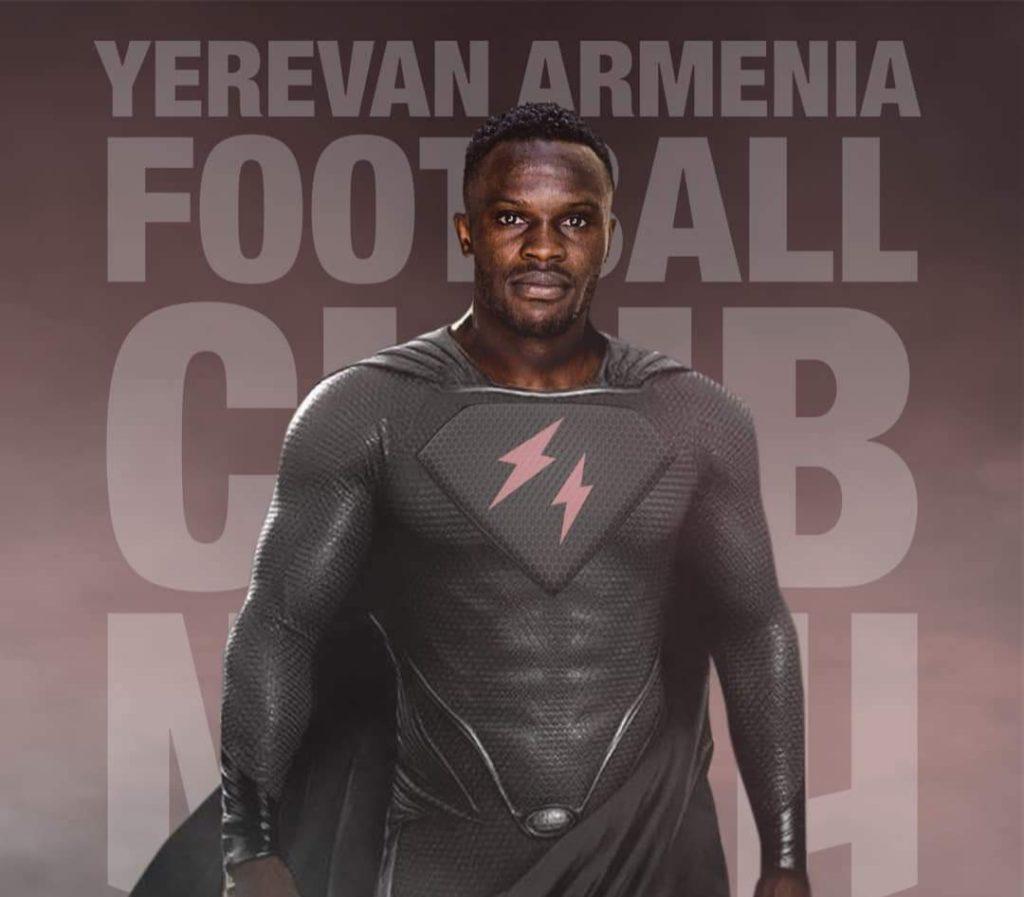 Ghanaian forward Raymond Gyasi joins FC Noah in Armenia