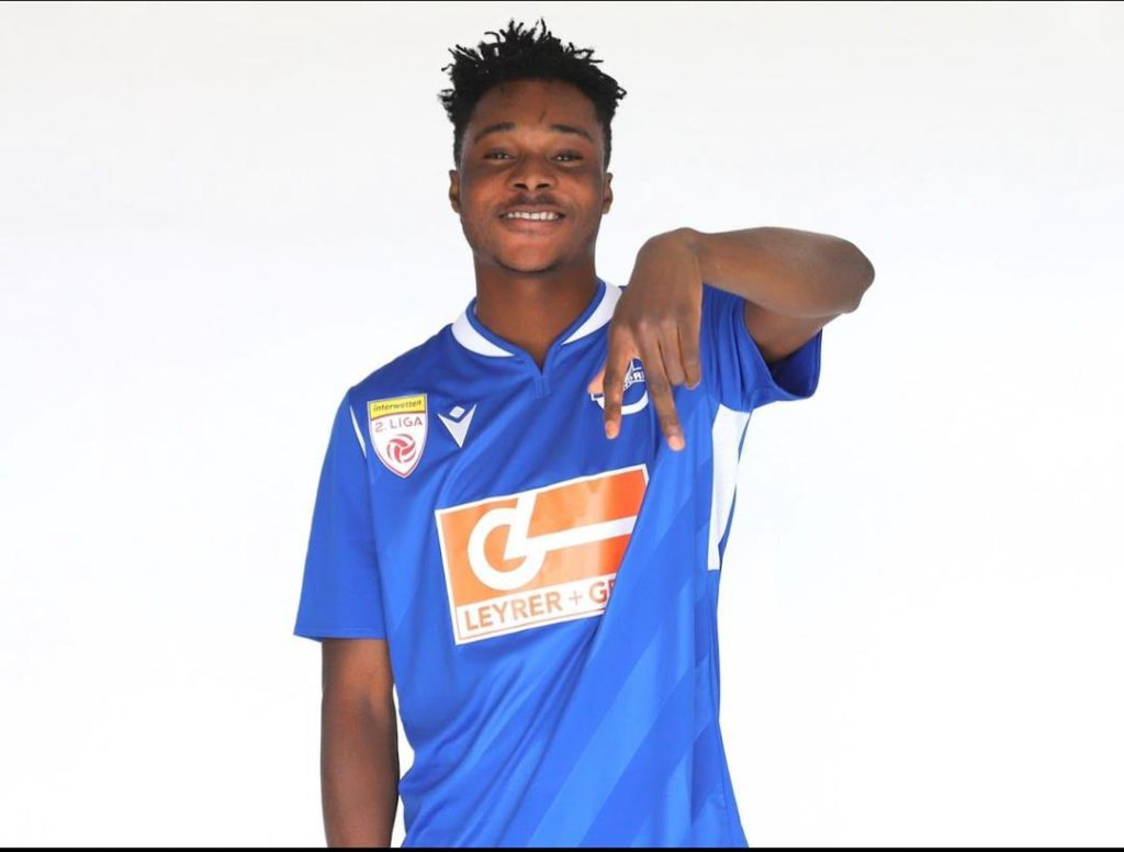Austrian side SV Horn officially unveil Ghanaian youngster Daniel Owusu
