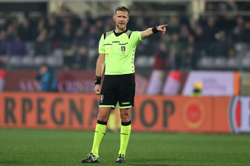 SERIE A TIM, THE REFEREES FOR THE 21ST ROUND