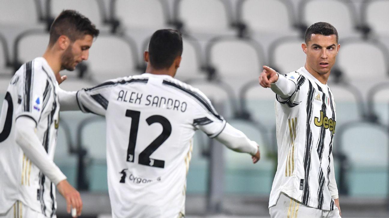 Ronaldo brace, McKennie strike send Juve 3rd